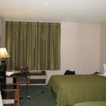 Decent room, flat screen TV - Quality Inn, Arcata