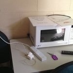 the microwave and available power point