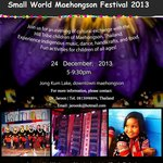 Panorama Hotel supports Small World Maehongson Festival 24 December 2013