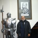 A knight in armour and me