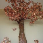 Copper tree, locally made