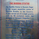 Information board of Statue...