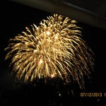 Fireworks over Lake Tegernsee During the Festival