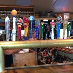 Beer spickets at the bar