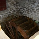 Water wheel that powered the mill
