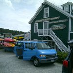 Boothbay Harbor kayak shop
