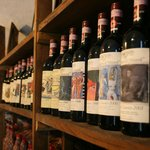 The wines at the cellar