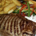 Steak from Burkes Bistro