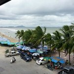 Room view of 303 SS bangsaen beach hotel