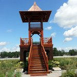 Whitney Viewing Stand, Oklahoma Track, Saratoga Springs NY