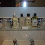 Lovely toiletries
