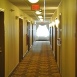 Hallway At Country Inn & Suites