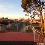 Rooftop patio view of Soweto