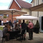 Garden BBQ at The Stanwell Heathrow Hotel