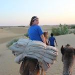 Camel safari to spend night under the stars in dunes