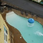 pool from balcony in 303