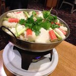 hot pot-seafood & meat