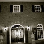 Historic City Hall, famous for it's orbs...on our Alpharetta Ghost Tour - HOWLpharetta