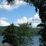 View of Lake Otsego from Room 10
