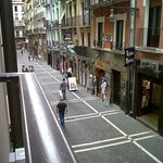 View from my room, overloooking calle Estafeta