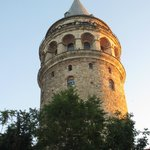 Galata Tower, just down the road from World House.