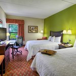 Rest and Relax in one of our spacious two queen bed rooms.