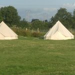 Abit of glamping - Bell tents - nice