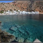 Loutro view from ferry