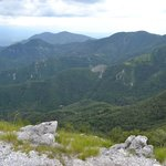 View from Monte Forato