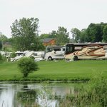 Beautiful spacious RV sites with a view