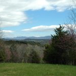 View of the Blue Ridge Mountains