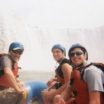 Rafting below the Falls--