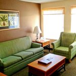 Remodeled Living Room of a Two Bedroom Condo Unit at the Indian Palms Vacation Club