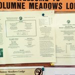 Tuolumne Meadows Lodge Menu