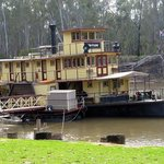 One of the highlights - the Emmylou Paddlesteamer