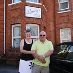 Nigel and Wendy, owners
