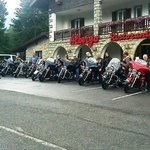 Hogsback Chapter UK  at hotel Des Alpes