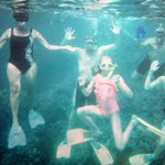 A family that snorkels together, stays together!