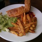 Fish and Homemade Chips