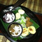 Traditional Balinese dessert sampler.