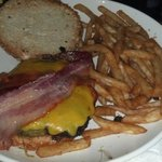Beau Burger with Beer Battered French Fries