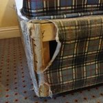 Holiday Inn, Killarney: Bed Frame Was Ragged