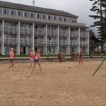Teens loved beach volleyball- very kid friendly