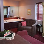 Whirlpool and Fireplace Suites at The Medbery Inn