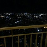 Night view from 31st floor. Awesome!