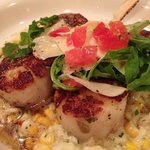 Scallops and Risoto