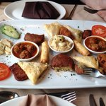 Hot Meze Sharing Platter ... Delicious !