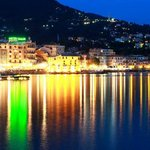 Rapallo at night