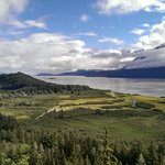 overlooking Chilkat River