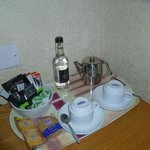 Well stocked tea tray